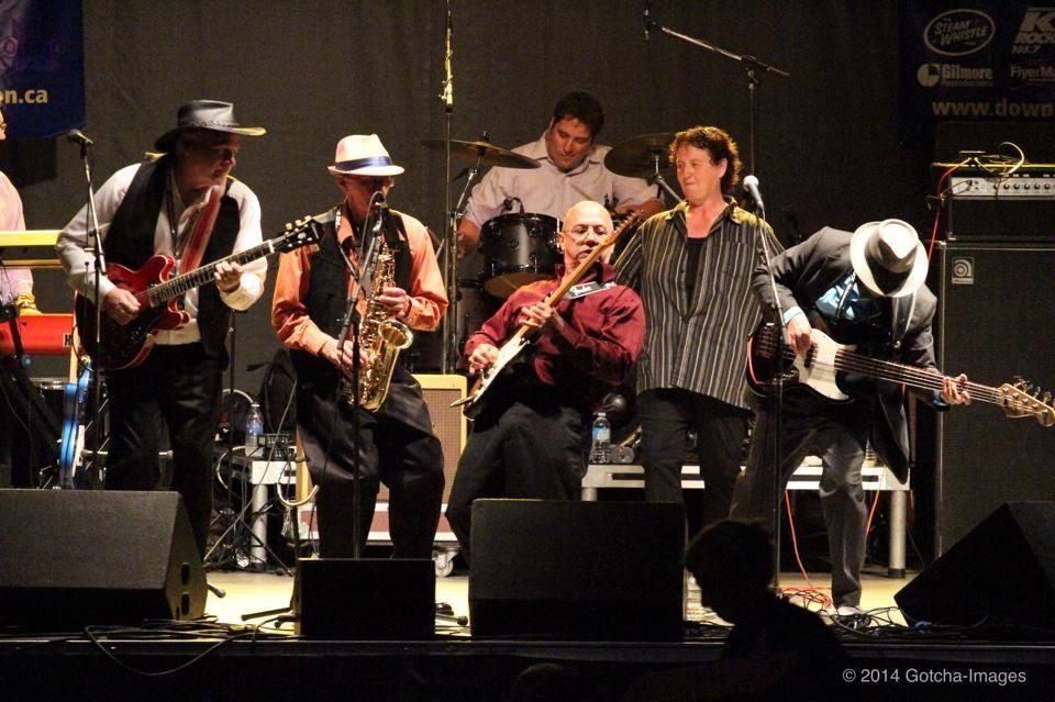 Headlining Limestone City BluesFest